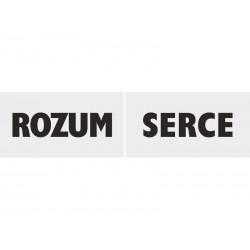 "Tabliczki ""Serce/Rozum"", 2szt"