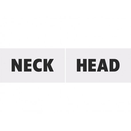 Tabliczka Head&Neck