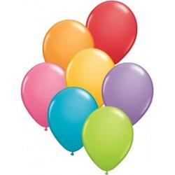 """Balony gumowe 27cm 12"""" mix kolorów, 10szt."""