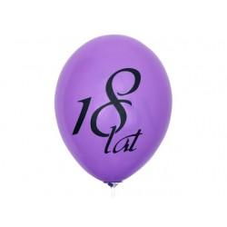 "Balon gumowy 27cm 12"" 18 lat, 1szt."