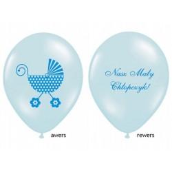 """Balon gumowy 14"""" Nasz Mały Chłopczyk, 1szt."""