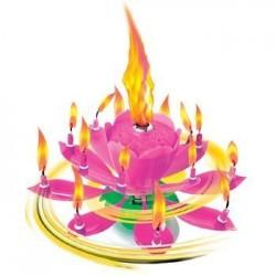 Fontanna, Kwiatek wirująco-grający, róż