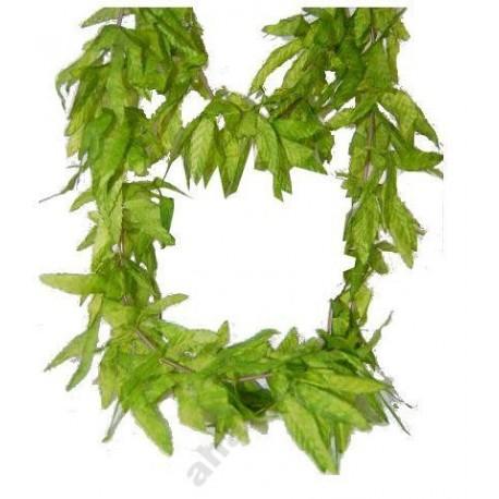 """naszyjnik z zielonych liści ,,Jamaica"""""""