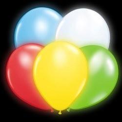 Balony świecące, opakowanie (4 szt.)
