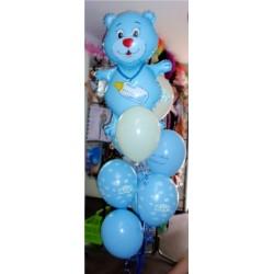 Pęk balonów z helem na narodziny / roczek