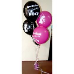 Pęk balonów z helem na wieczór panieński