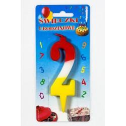 """Świeczka urodzinowa """"2"""""""