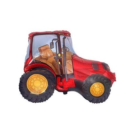 Balon foliowy Traktor czerwony 78x95