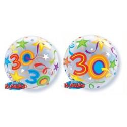 """Balon foliowy 22"""" na 30 urodziny"""