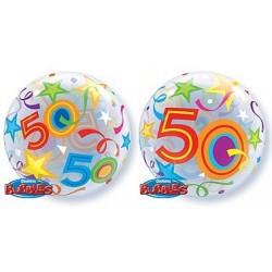 """Balon foliowy 22"""" na 50 urodziny"""