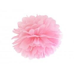 Pompon papierowy j.różowy, 35cm