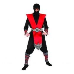 StrójCzerwony Ninja r.uniw.
