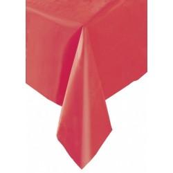 Obrus foliowy czerwony