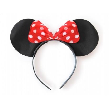 Opaska Myszka Minnie, kropki