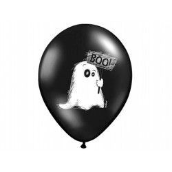 "Balony 14'' Pastel Black ""Duszek"""