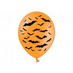 "Balony 14"" Pastel Orange ""Nietoperze"""