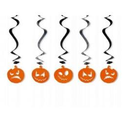 Świderki na Halloween- dynie