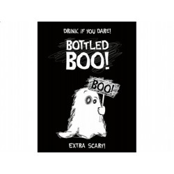 "Etykieta na butelkę ""Boo"", 10 szt."
