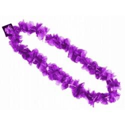 """naszyjnik hawajski ,,fioletowe kwiatki"""""""