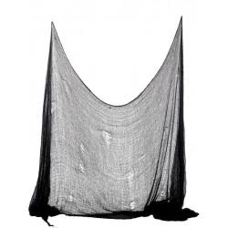 Zasłona HALLOWEEN czarna (75x300cm)