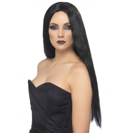 Peruka długa czarna, Witch
