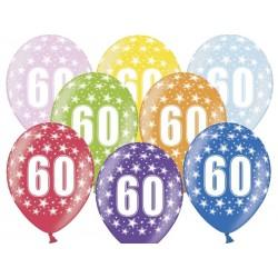 """Balon 14"""" 60 Urodziny, 1szt"""