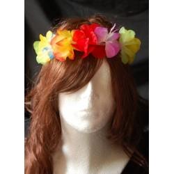 wianek hawajski na głowę