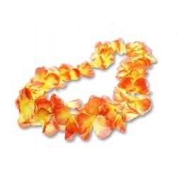 Naszyjnik hawajski płomień czerwony