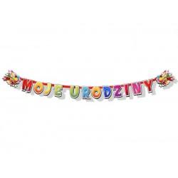 Baner II Moje Urodziny, 207 cm