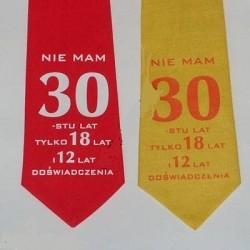 Krawat na 18 urodziny