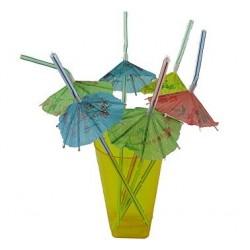 Słomki parasolki 6szt.