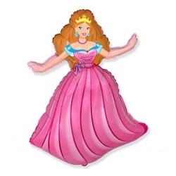 """Balon foliowy 24"""" Księżniczka"""