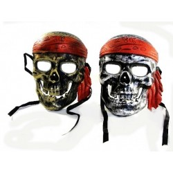 Maska czaszka pirata