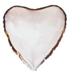 "Balon foliowy 18"", Serce srebrny"
