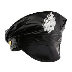 Czapka Policjanta, czarna