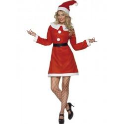 strój Mikołajowej/ Śnieżynki EKO