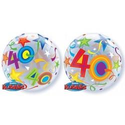 """Balon foliowy 22"""" na 40 urodziny"""