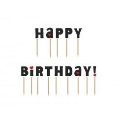 Karteczki na piku Happy Birthday
