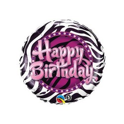 "Balon foliowy 18"", ""Happy Birthday"