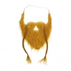 Wąsy i broda Wikinga