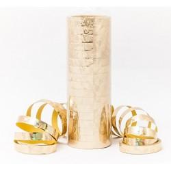 Serpentyna holograficzna - złota