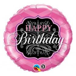 "Balon foliowy 18"", ""Happy Birthday Girl"""