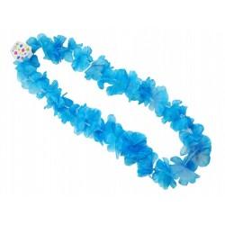 """naszyjnik hawajski ,,niebieskie kwiatki"""""""