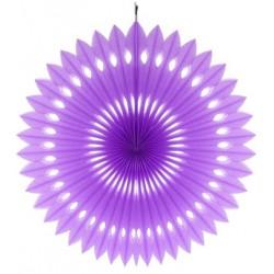 Rozeta dekoracyjna lawendowa, śr. 40 cm