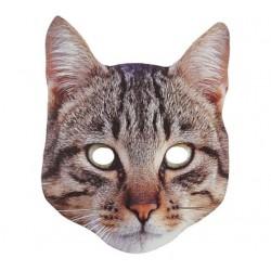 Maska papierowa Kot