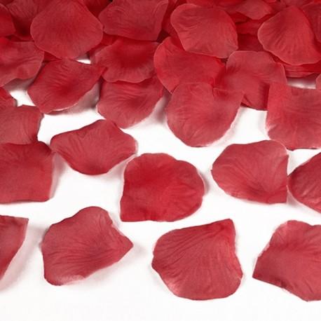 Konfetti płatki róż, czerwone 100szt